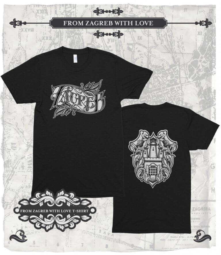 T-shirt Zagreb - From Zagreb With Love