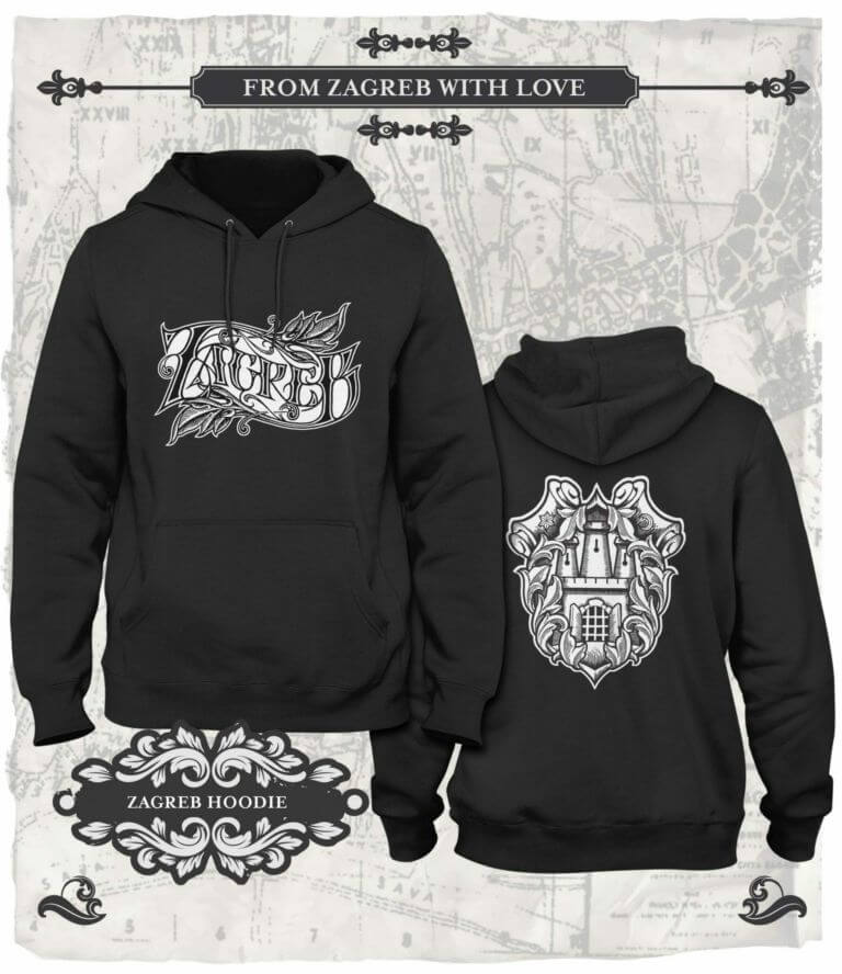 From Zagreb With Love Hoodie Zagreb